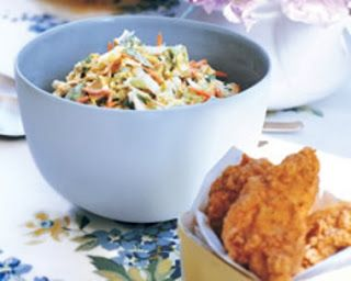 The Recipe File: Napa Coleslaw with Buttermilk Dressing and Avocado