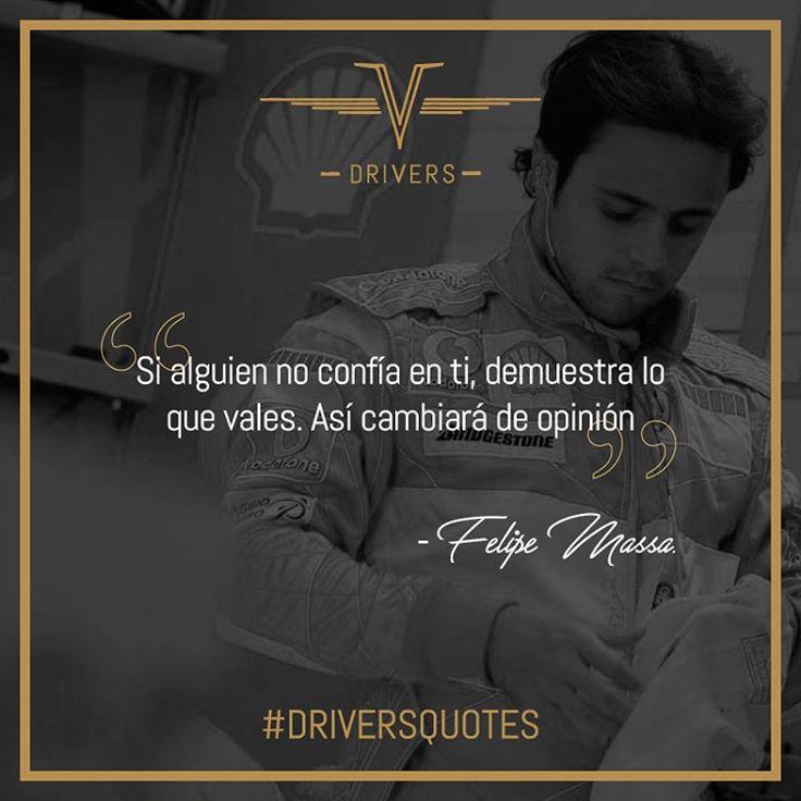 Sus 11 victorias y 40 podios a lo largo de su carrera le hacen un lugar a Felipe Massa en nuestras #DriversQuotes.    #Drivers #DriversChile #Cars #Quotes #Fórmula1 #F1 #CarLovers #Miniaturas #AutosAEscala #Herramientas #Limpieza & #Detailing #Santiago #Chile