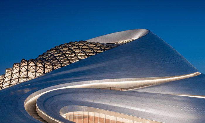 Harbin má organicky tvarovaný operní dům od MAD