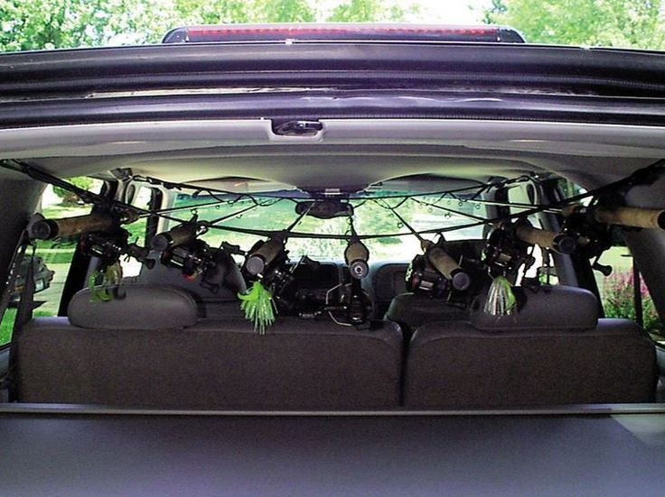 Buy Fishing Rod Rack For SUV Inside Roof Holder Transport Reels Poles  Storage Garage At Online Store