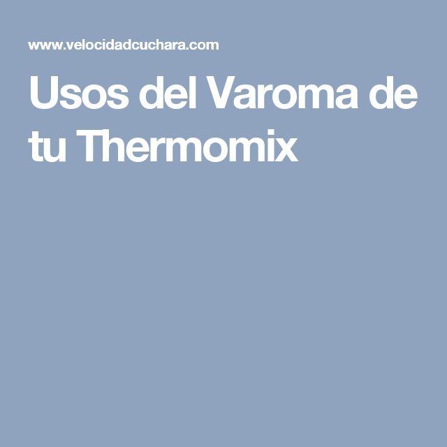 Usos del Varoma de tu Thermomix