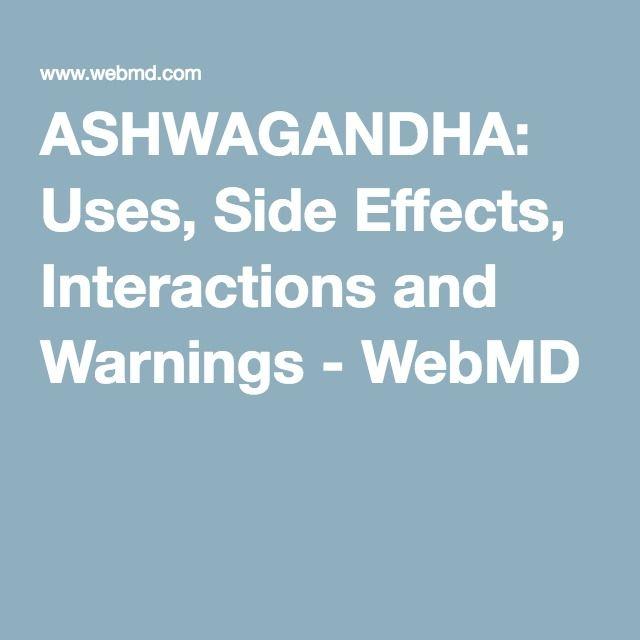 Image Result For Ashwagandha Webmd