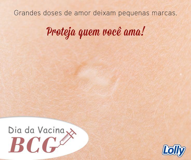 Dia da vacina BCG Hoje comemora-se o Dia da Vacina BCG. A BCG (Bacilo de Calmette e Guérin) é a única vacina contra a tuberculose. No Brasil, a vacina é obrigatória para crianças menores de um ano de idade desde 1976. Deve ser aplicada em recém-nascidos com peso igual ou superior a 2 kg, ainda na maternidade.  Atualmente, o Ministério da Saúde recomenda revacinar todas as crianças em idade escolar, que estejam com seis anos de idade, independentemente de terem ou não cicatriz vacinal.
