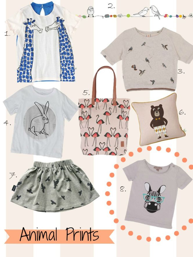 Trend ss14: animal prints