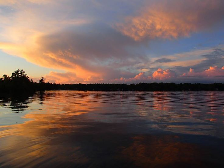 Sunset over Bobcaygeon - August 2014