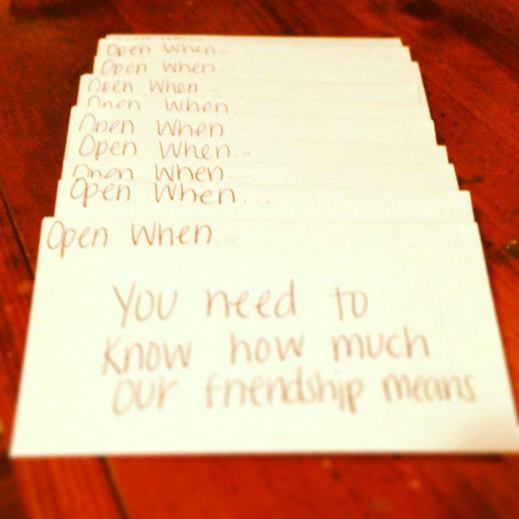 Best 25 Open when letters for best friend ideas ideas on