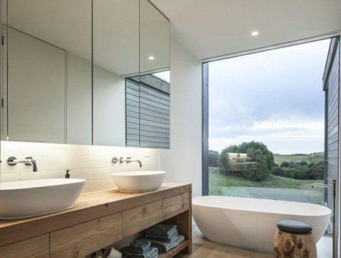 Les 25 meilleures id es concernant salle de bains taupe for Amenagement salle de bain avec fenetre
