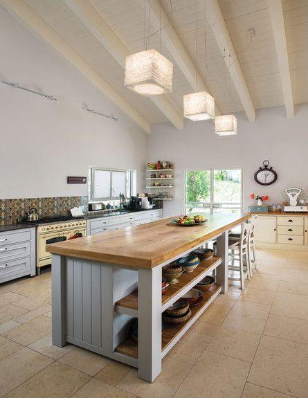 גרף אדריכלים, אי במטבח גובה