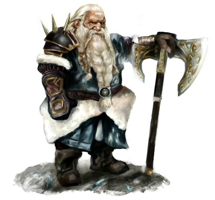 Dwarf from Frost Mount