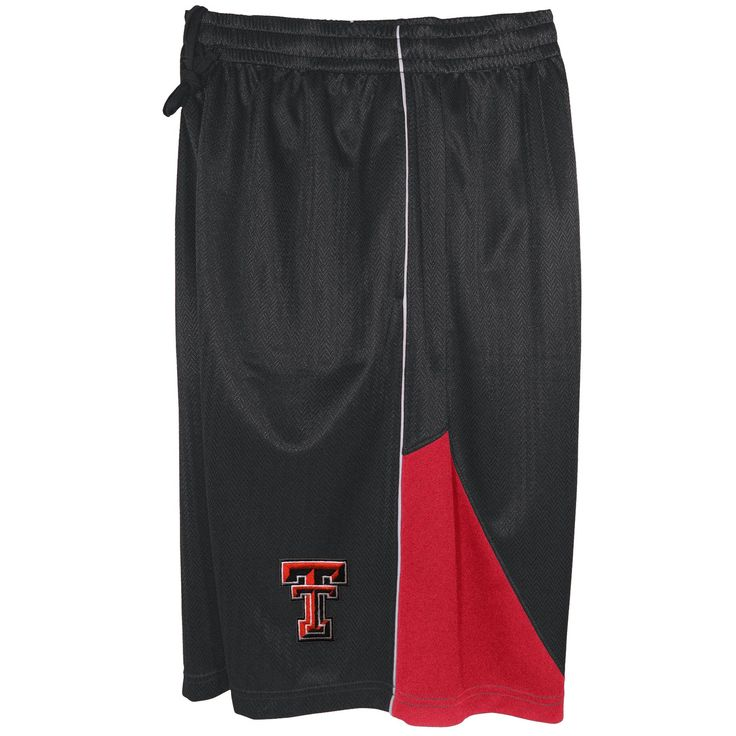 NCAA Men's' University Of Texas Tech Red Raiders Basketball Shorts, Men's