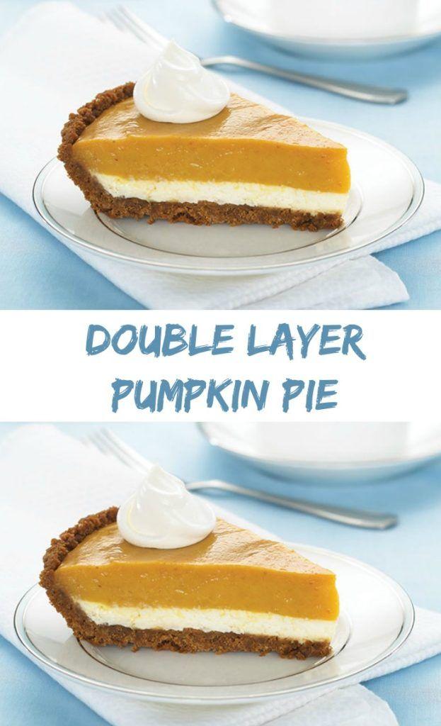 + ideas about Double Layer Pumpkin Cheesecake on Pinterest | Pumpkin ...