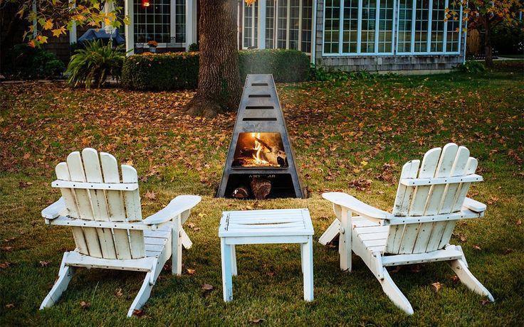 The Blaze Tower is a firepit/grill/smoker hybrid for sale   InsideHook