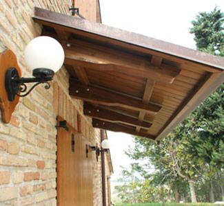 Cantilevered Bracket Pergolas Pinterest Porch Roof