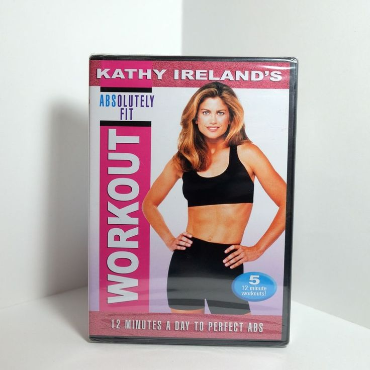 Kathy Irelands ABSolutely Fit (DVD, 2005) Perfect Abs - RARE - Brand New! #kathyireland #abs #abworkout #workout #befit #getfit #exercise #dvd #dvdcollection #fitness