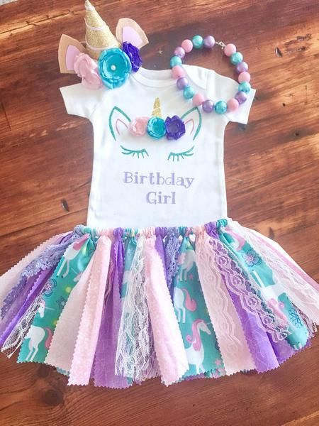 Unicorn Birthday Outfit – Tutu Cute By Carrie