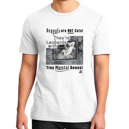 Bengal Cat District T-Shirt (on man)