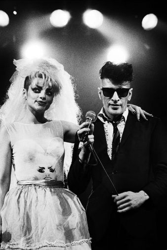 Lovers...Nina Hagen and Herman Brood...during this time they filmed the movie Cha Cha!