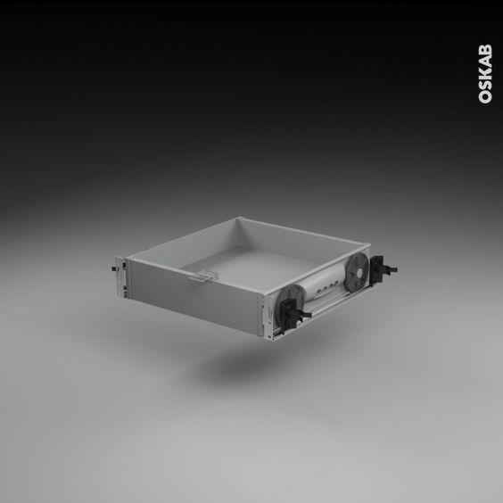 Tiroir Sous Plinthe Pour Meuble De Cuisine L80 Cm Sokleo En