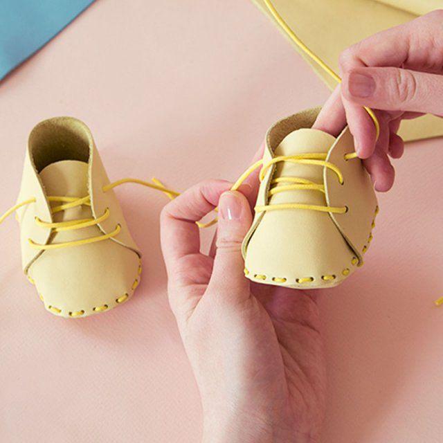 nouveau style 4c8b9 11f25 couture bébé: 7 tutoriels pour coudre des chaussons de bébé ...