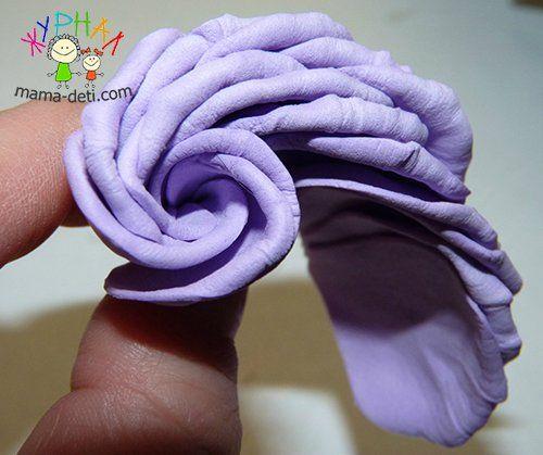 Роза мастер класс | Цветы из фоамирана