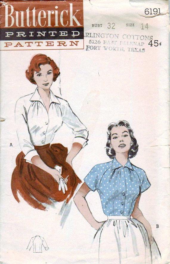 Butterick 6191 (1952)