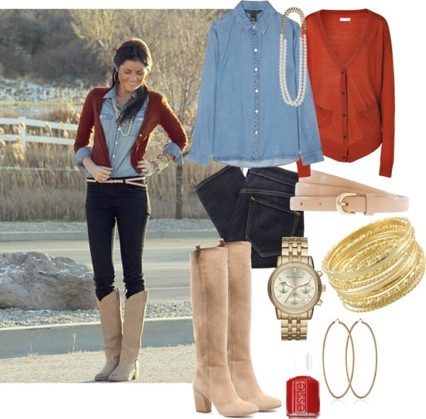 """Fall Country Outfit"" by natihasi on Polyvore"