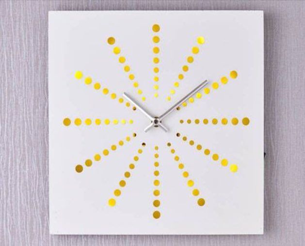 "Di's Home Decor on Twitter: ""Light up clock £19 #clock #wallclock #forsale #homedecor #homedecoration #modern #wineoclock #buynow #homedelivery #LocalBiz #SmallBiz https://t.co/rK3AAVoYPU"""