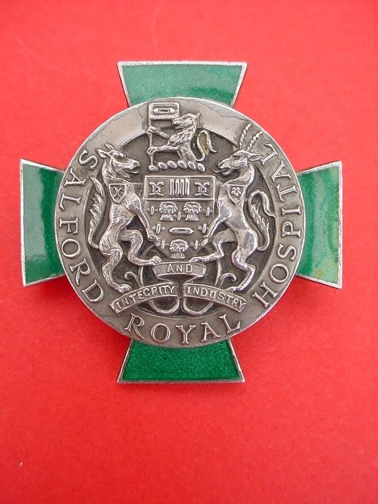 Nurses Badge Salford Royal Hospital