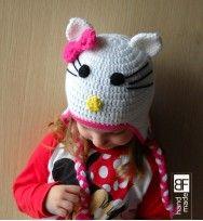 Cat crochet hat