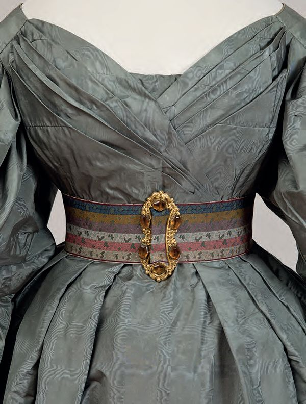 Dress, 1831-35 From Cora Ginsburg