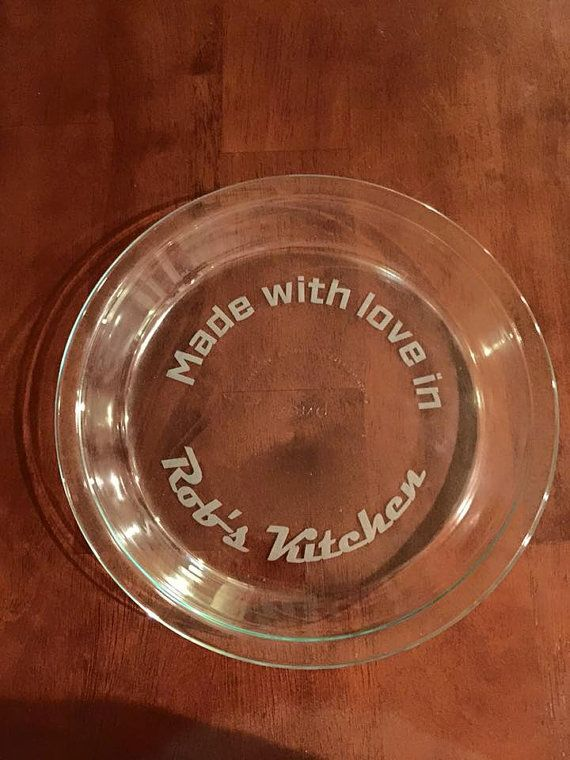 Personalized Pie Plate & 8 best Pie Plates images on Pinterest | Pie plate Dish and Plate