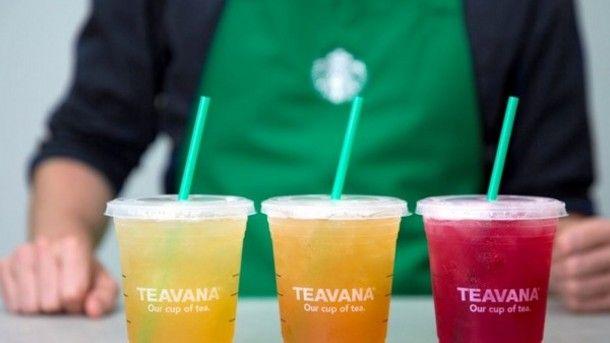 Anheuser-Busch & Starbucks teavana RTD partnership