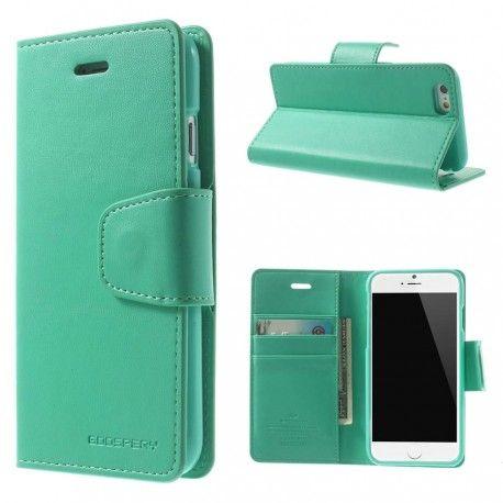 Apple iPhone 6 Syaani Sonata Suojakotelo  http://puhelimenkuoret.fi/tuote/apple-iphone-6-syaani-sonata-suojakotelo/
