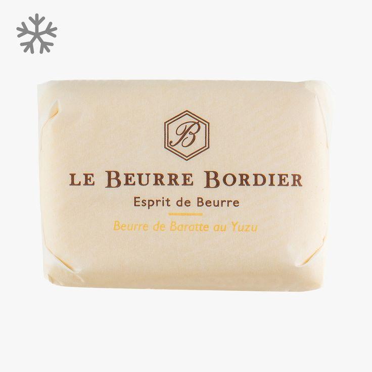 Beurre de baratte au Yuzu - Le Beurre Bordier - Find this product on Bon Marché website - La Grande Epicerie de Paris