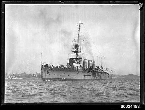 HMAS Adelaide Light Cruiser of the Royal Australian Navy