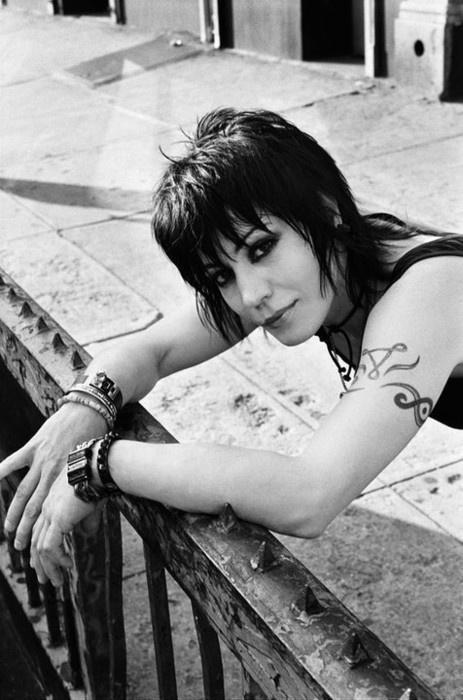 I always try to further educate myself about music, and musicians that have paved the way for artists today. Lately I've learned a lot about Joan Jett. Her voice is extremely unique and she pursued rock and roll at a time when it was unheard of to have women try and attempt. Lyrically she's very gifted and has impacted the way that I write music and lyrics. Her music tells a story and I love listening to her music.