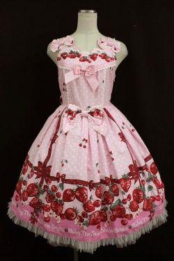 Image 1: BABY, THE STARS SHINE BRIGHT / Strawberry Milk of Strawberry Days tutu jumper skirt