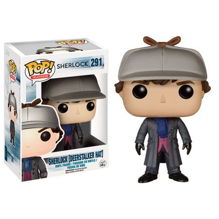 Sherlock Pop! Vinyl Figure - Sherlock Deerstsalker Ltd Edition : Forbidden Planet