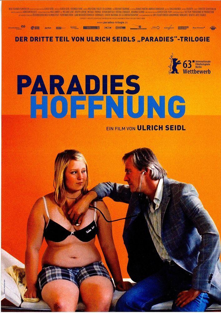 PARADIES HOFFNUNG - 2013 - ULRICH SEIDL - FILMPOSTER A4