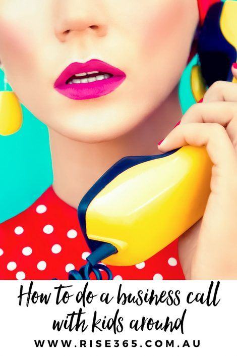 Home Business Hustle: How to do work calls with kids