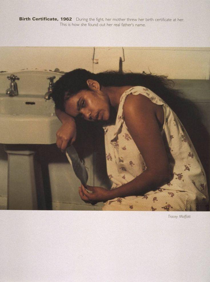 Tracey Moffatt 'Birth Certificate, 1962', 1994 © Tracey Moffatt
