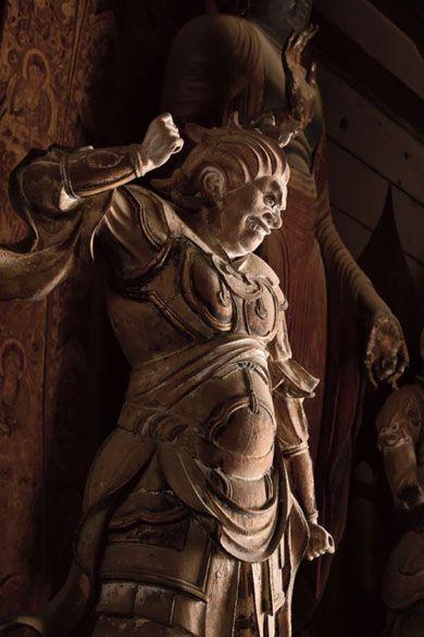 土門拳に捧ぐ-三好和義写真展「室生寺十二神将」