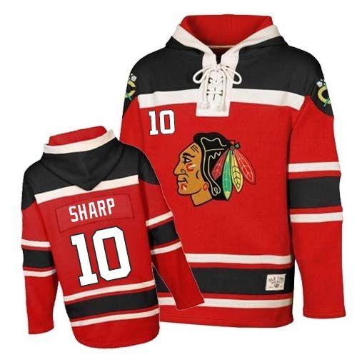 Chicago Blackhawks #10 Patrick Sharp 2013 Champions Commemorate Red Jersey