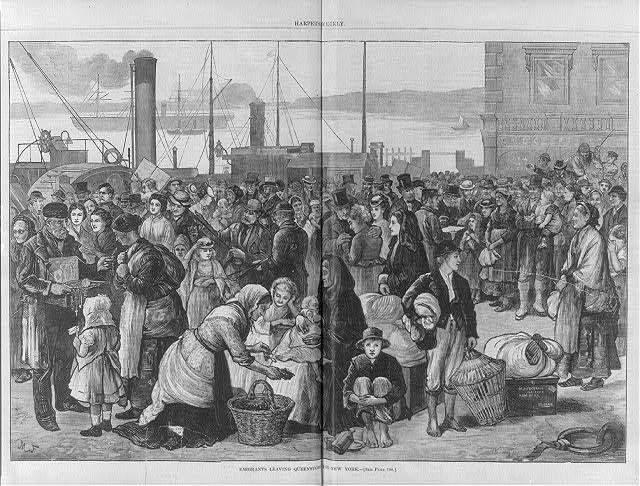 Irish immigrant journals