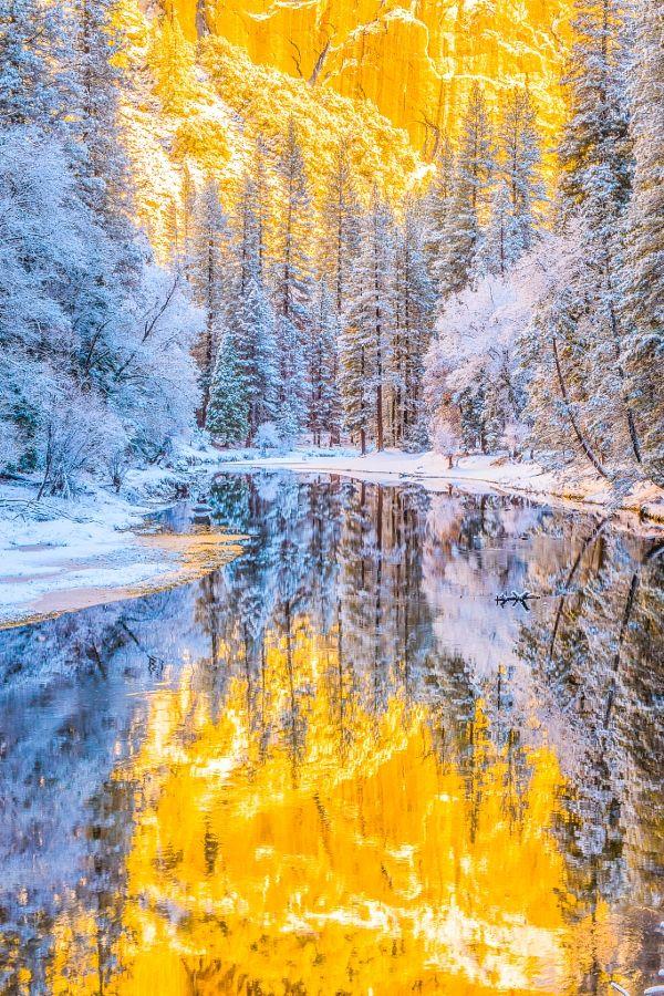 Winter colours (Yosemite, California) by Seungho Yoo / 500px