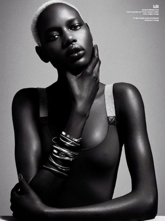 Ajak Deng by Danielle + Iango for V Magazine