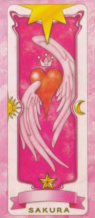 The nameless card... From Cardcaptor Sakura the movie The Sealed Card