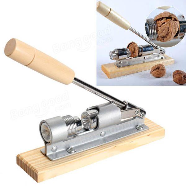 1 Pcs Kitchen Hool of Nutcracker Quick Walnut Cracker Sheller Nut Opener