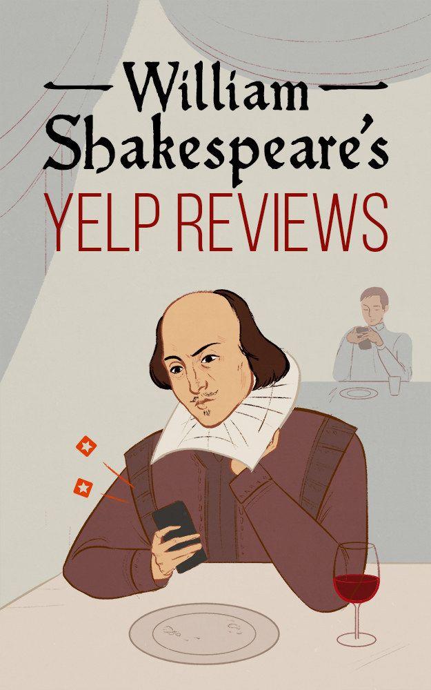 William Shakespeare's Yelp Reviews