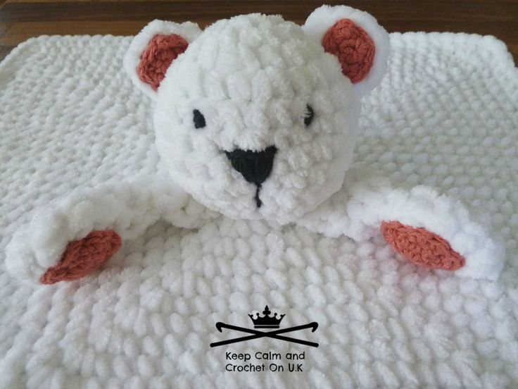 Free Crochet Pattern For Animal Security Blanket : 10 Best images about BABY SNUGGLE/COMFORT BLANKETS - FREE ...